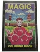 Micro Coloring Book - Magician Book