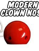 Modern Clown Nose (Small/ Medium) Accessory