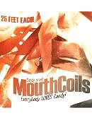 Mouth Coils 25 ft (Black/ Orange)