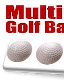 Multiplying Golf Balls (White) Trick