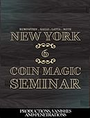 New York Coin Magic Seminar - Volume 6 (Productions, Vanishes and Penetrations) Magic download (video)