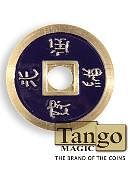 Chinese Coin - Dark Purple Gimmicked coin