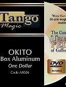 Okito Coin Box (Aluminum) - Dollar Coin Trick