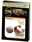 Okito Coin Box (Brass) - Quarter Trick