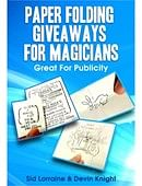 Paper Folding Giveaways For Magicians Trick