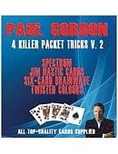 Paul Gordon's 4 Killer Packet Tricks Volume 2 Book