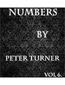 Peter Turner's Mentalism Masterclass - Numbers (Volume 6) Magic download (ebook)