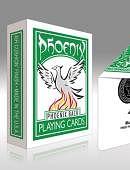 Phoenix Deck - Green Deck of cards