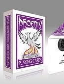 Phoenix Deck - Purple Deck of cards