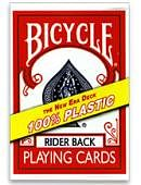Plastic Bicycle Cards