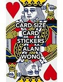POKER Size Card Stickers Accessory