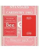 Bicycle Quality Bee Playing Cards (Red)  Deck of cards