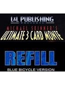 Refill Cards for 3 Card Monte Trick