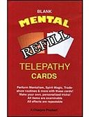 Refill  Mental Telepathy Cards Trick