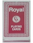 Regular Deck Royal One Way Back (Red) Deck of cards