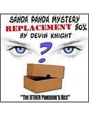 REPLACEMENT Box for Sanda-Pandas Trick