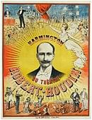 Robert Houdin Theatre Poster Trick