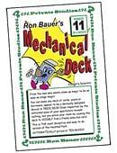 Ron Bauer Series: #11 - Ron Bauer's Mechanical Deck Book