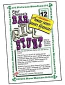 Ron Bauer Series: #12 - Paul Chosse's Bar Bill Stunt Book