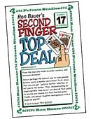 Ron Bauer Series: #17 - Second Finger Top Deal Book