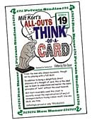 Ron Bauer Series: #19 - Milt Kort's All Outs Think of a Card Milt Book