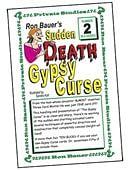 Ron Bauer Series: #2 - Sudden Death Gypsy Curse Book