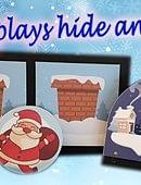 Santa Plays Hide and Seek Trick