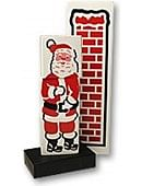 Santa Stuck in the Chimney Trick