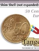 Shim Shell - 50 Euro Cents Coin Gimmicked coin