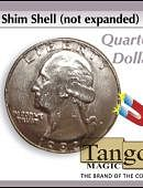 Shim Shell - Quarter Gimmicked coin