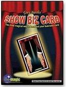 Show Biz Card Trick