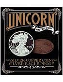 Silver - Copper Coin - Silver Eagle Proof