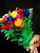Sleeve Bouquet (10 Flowers) Trick