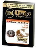 Slot Boston Coin Box (Brass) - Half Dollar Trick