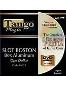 Slot Boston Coin Box (Aluminum) - Dollar Coin Gimmicked coin