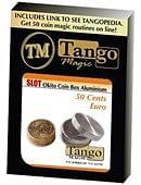 Slot Okito Coin Box (Aluminum) - 50 Euro Cents Trick