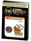 Slot Okito Coin Box Brass 2 Euro Trick