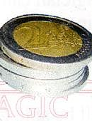 Stack of Coins - 2 Euros Gimmicked coin