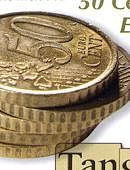 Stack of Coins - 50 Euro Cents Gimmicked coin