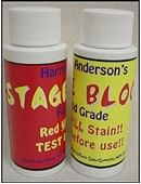 Stage Blood/Harry Anderson's Trick