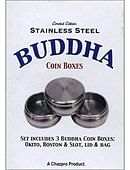 Stainless Steel Buddha Coin Box Set Trick