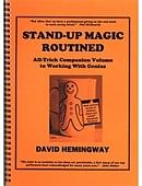 Stand Up Magic Book