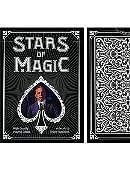 Stars of Magic Playing Cards (Black)