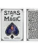 Stars of Magic Playing Cards (White)
