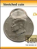 Stretched Coin - Half Dollar Gimmicked coin