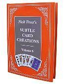 Subtle Card Creations of Nick Trost - Volume 4  Book