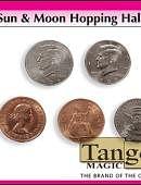Sun & Moon - Double-Sided Half Dollar/English Penny Gimmicked coin