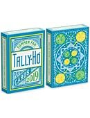 Tally Ho Fan Back Summer Playing Cards Deck of cards