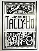 Tally-Ho Limited Edition Reverse Circle Back Playing Cards Deck of cards