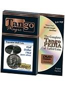 Tango Silver Line Expanded Shell Silver Half Dollar 1964 (pure silver w/DVD- DVD